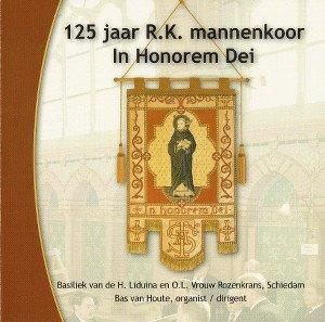 CD-hoes front CD of the Gregorian Men's Choir